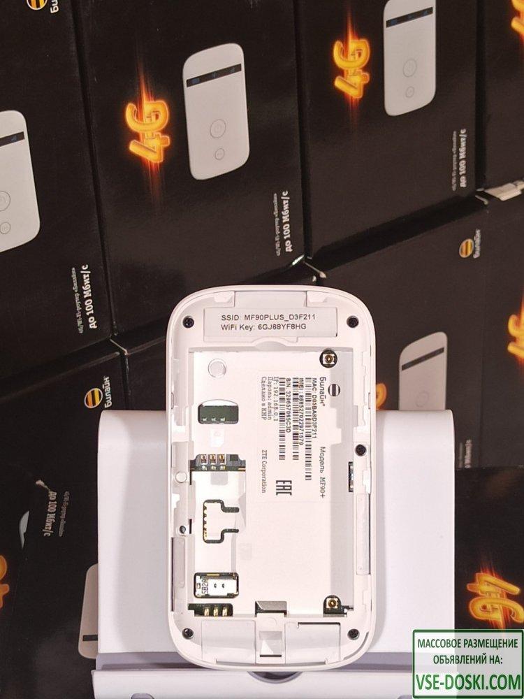 WiFi Роутер 4G / ZTE MF90 + Все операторы связи! - 6/10