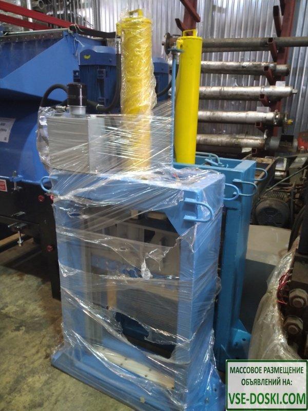 Гильотинный гидравлический резак для габаритного материала