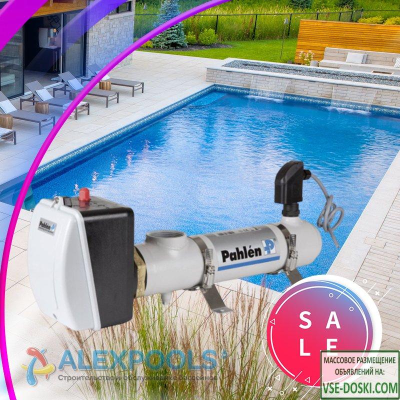 Электронагреватели воды для бассейна