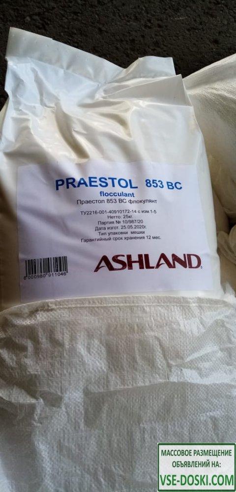Катионный флокулянт Praestol 853, меш. 25 кг