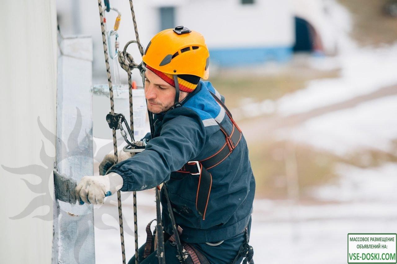 Ремонт фасадов , Монтаж Бакенеров, высотные работы