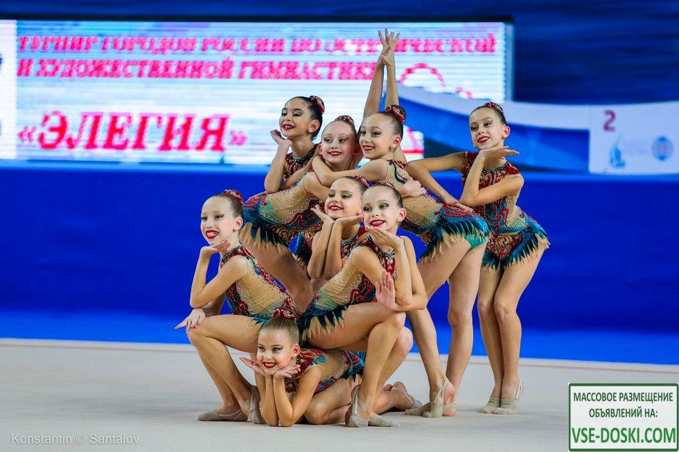 Гимнастический клуб Небеса в Краснодаре. Гимнастика для девочек. Художественная гимнастика