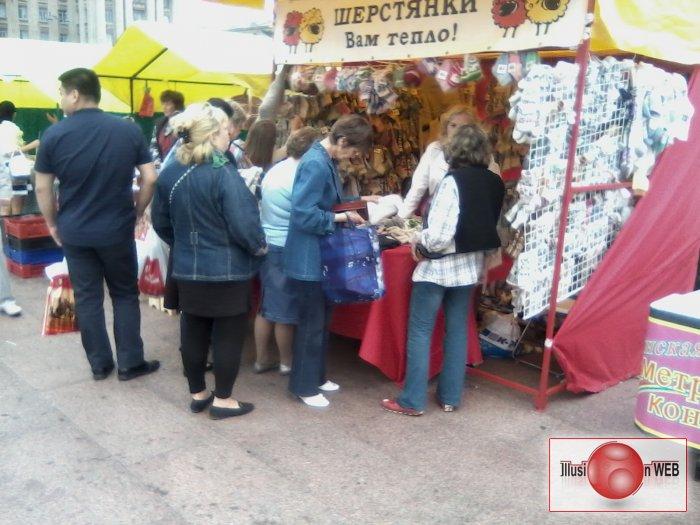 Ярмарка в Санкт-Петербурге