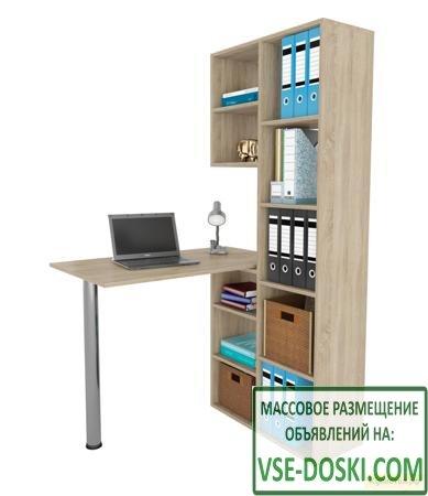 Угловой компьютерный стол МФ Мастер Рикс-2 + Рикс-6