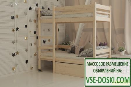 Детская кровать Green mebel Дональд