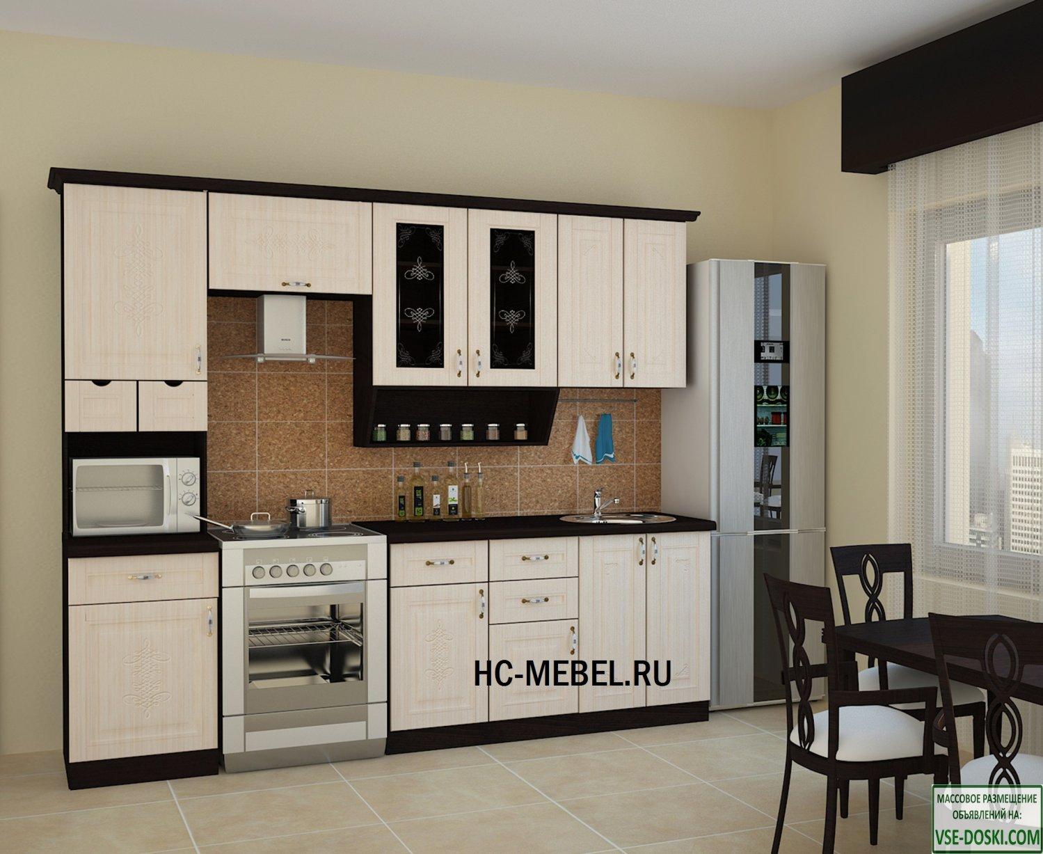 Кухня БЕЛАРУСЬ-4, правая - левая