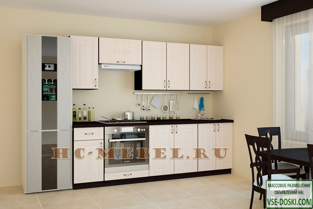 Кухня БЕЛАРУСЬ-7, правая - левая