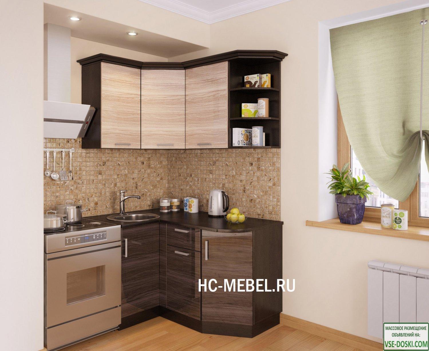 Кухня ВЕНЕЦИЯ Угловая, правая - левая