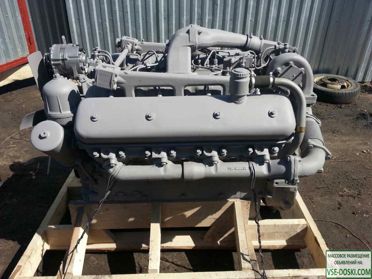 Двигатель ЯМЗ 238НД5 на Кировец