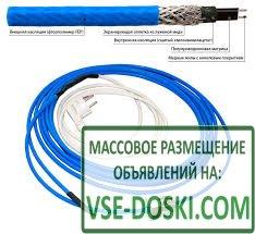 Греющий кабель для водопровода и канализации