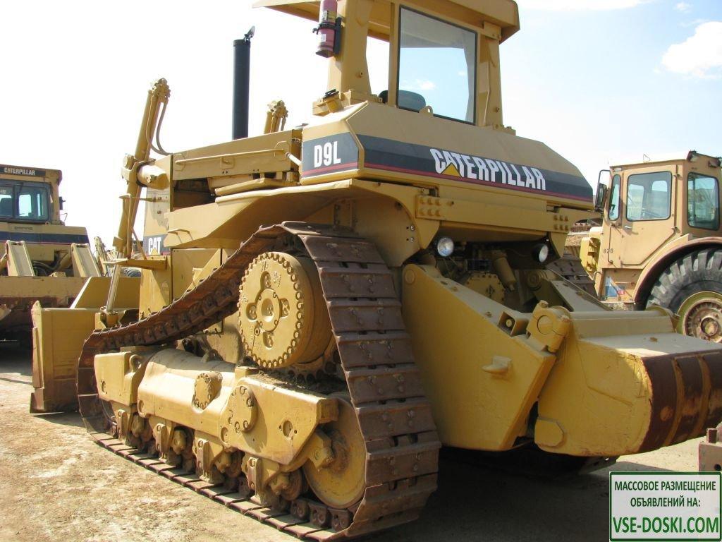 Запасные части бульдозеров Caterpillar D9L