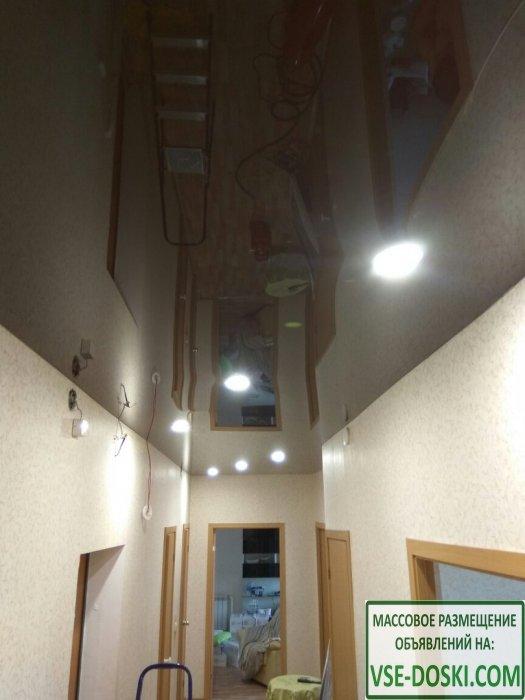Натяжной потолок с подарками для клиента