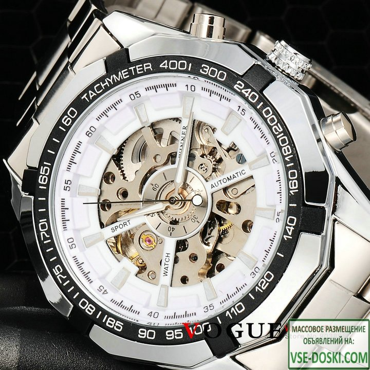 Часы Winner Skeleton Luxury