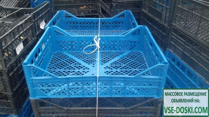 Пластиковые ящики для фруктов, овощей,грибов в ассортименте